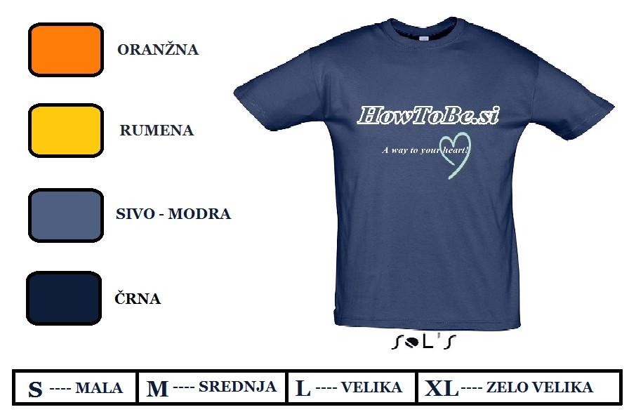 Majice HowToBe.si 02